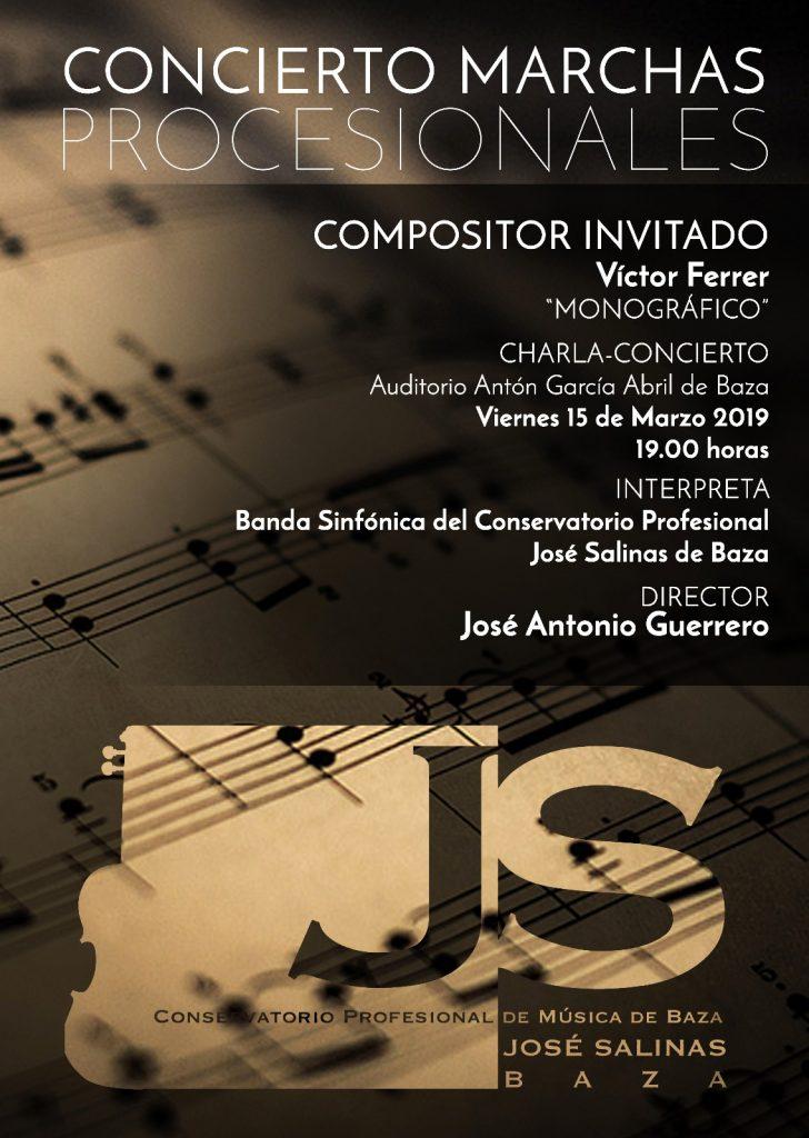 CONCIERTO MARCHAS PROCESIONALES: Monográfico Victor Ferrer