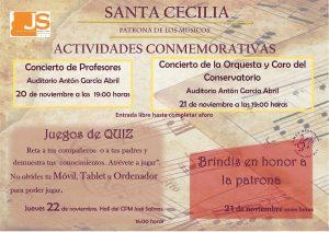 ACTIVIDADES EN HONOR A SANTA CECILIA